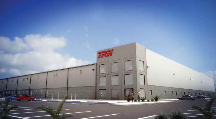 Завод TRW производство