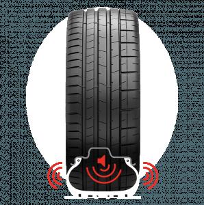 Инновационная полиуретановая губка Pirelli поглощает эти вибрации и снижает шум
