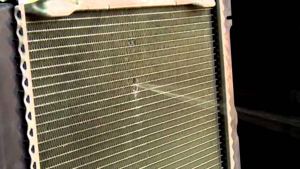 Течь автомобильного радиатора