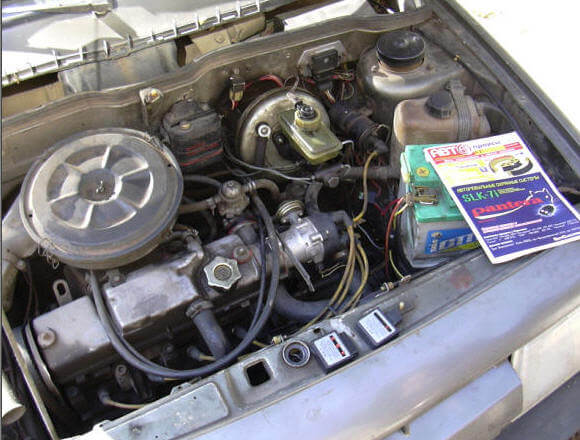 ВАЗ 2109 проверить топливо, искру и воздух
