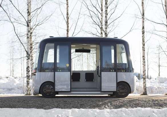 Nokian поставила шины для беспилотного автобуса