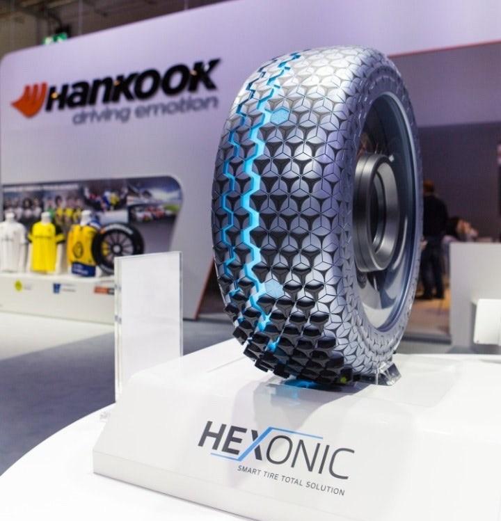 Умная шина Hexonik с семью датчиками