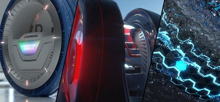 Представлены новые умные шины для умных автомобилей
