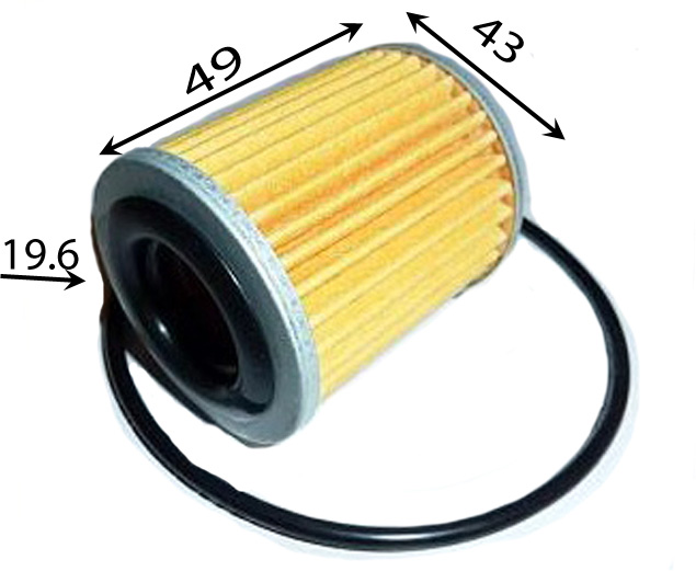 2824A006 MITSUBISHI Масляный фильтр для АКПП (Фильтр охладителя масла)