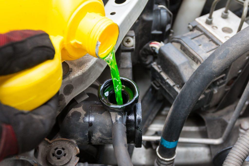 Что такое зеленый автомобильный антифриз